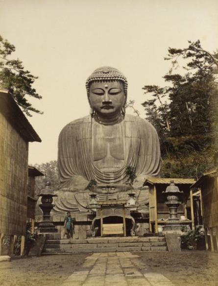 Daibutsu. 1865 Photograph, Los Angeles County Museum of Art (LACMA)