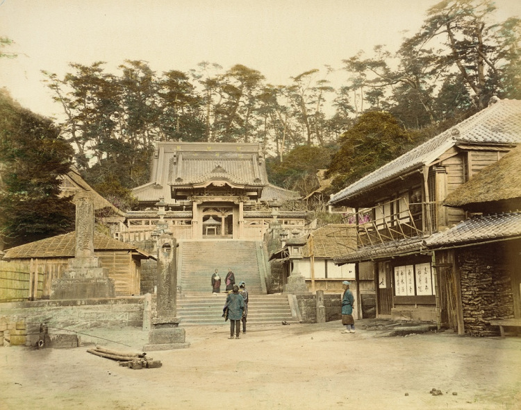 Buddhist Photographs of Japan in 1865