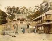 Katase Temple, Japan 1865 Photograph, Los Angeles County Museum of Art (LACMA)