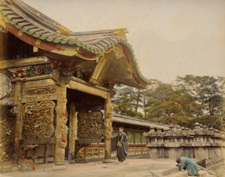 Shiba Temple, Japan. 1865 Photograph, Los Angeles County Museum of Art (LACMA)