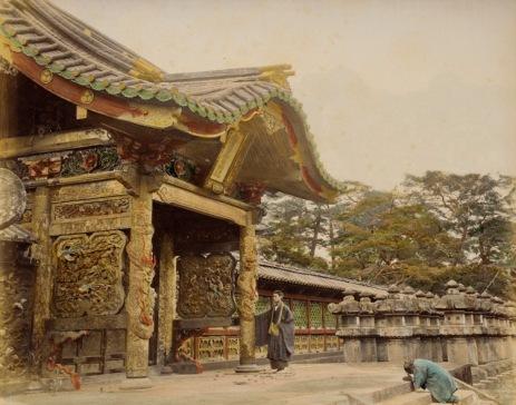 Shiba Temple, Japan. 1865 Photograph, Los Angeles County Museum of Art (LACMA)