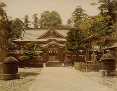 Toshioagu Temple, Japan. 1865 Photograph, Los Angeles County Museum of Art (LACMA)