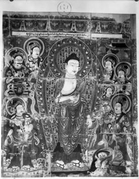 Buddhist print. #endangeredarchives @bl_eap