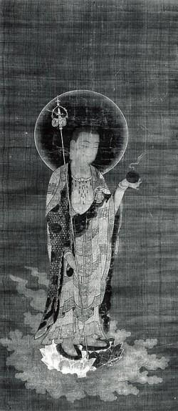 Jizo Bosatsu in Welcoming Descent