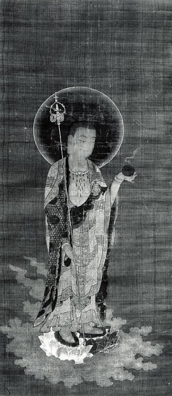 Jizo Bosatsu in Welcoming Descent