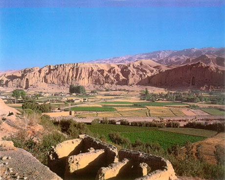Bamiyan, photo by Sir John Aske