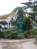 Saidai-ji's (西大寺) green Kannon
