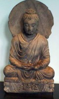 Buddha in sitting posture. © Victoria and Albert Museum
