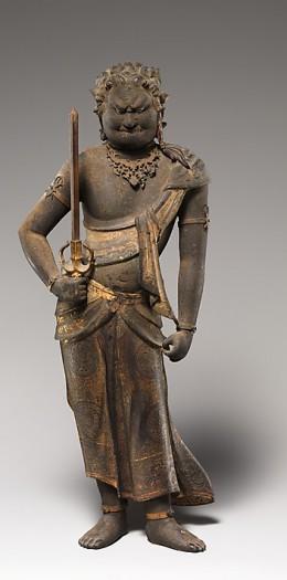 Fudō Myōō (Acalanātha) © The Metropolitan Museum of Art