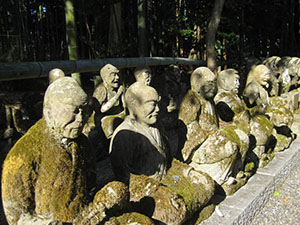 Sekizanzen-in's (赤山禅院) Juroku-rakan (十六羅漢 the '16 Arhats')
