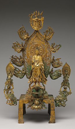 Altarpiece Dedicated to Buddha Maitreya (Mile fo)