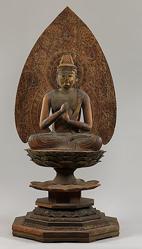 Dainichi Nyorai is known as the Supreme Buddha of the Cosmos in Esoteric Buddhist thought