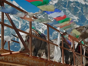 Trek the mountains of Khumbu