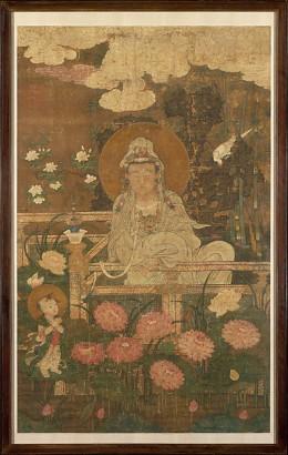 Guanyin as the Nine-Lotus Bodhisattva