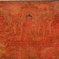The Buddha Shakyamuni, Five Past Buddhas, and Maitreya