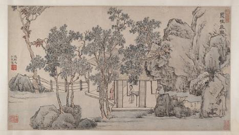 The Cassia Grove Studio, Wen Zhengming ca. 1532 China. © Metropolitan Museum of Art
