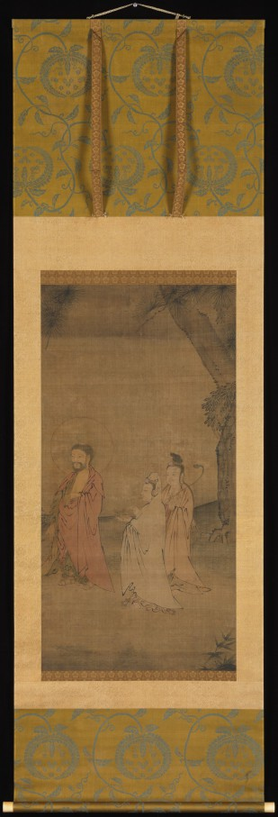 Sakyamuni and Attendant Bodhisattvas © The Metropolitan Museum of Art