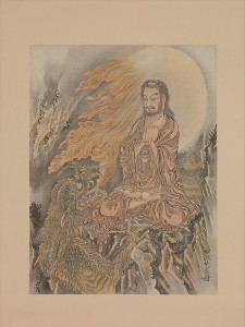 Shakyamuni Conquering the Demons