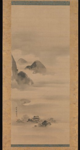 Landscape in Moonlight, Kano Tan'yū (Japanese, 1602–1674) Edo period (1615–1868) © The Metropolitan Museum of Art