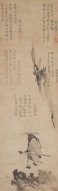 『東坡笠屐図』 Su Shi (Dongpo) in a Straw Hat and Sandals © The Metropolitan Museum of Art