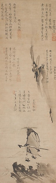 『東坡笠屐図』 Su Shi (Dongpo) in a Straw Hat and Sandals © The Metropolitan Museum of Art