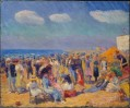 Crowd at the Seashore, William James Glackens (American, Philadelphia, Pennsylvania 1870–1938 Westport, Connecticut )