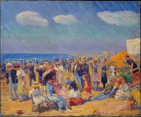 Crowd at the Seashore, William James Glackens © Metropolitan Museum of Art