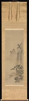Summer Landscape Artist: Kano Tan'yū (Japanese, 1602–1674)