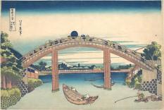 Under the Mannen Bridge at Fukagawa