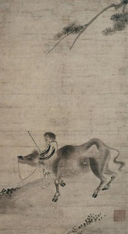牧牛図 Oxherding Artist: Sekkyakushi (Japanese, active first half of the 15th century