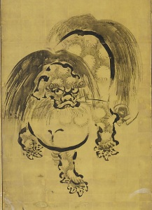 Chinese Lion, Hanabusa Itchō (Japanese, 1652–1724), © The Metropolitan Museum of Art