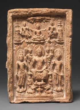Miracle of Shravasti, Terracotta, 7th–9th century, Thailand © The Metropolitan Museum of Art