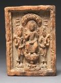 Terracotta, 7th–9th century, Thailand © The Metropolitan Museum of Art