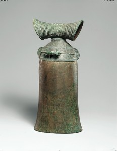 Elephant Bell with Miniature Elephant, Thailand (Ban Chiang), ca. 300 B.C.–A.D. 200. © The Metropolitan Museum of Art