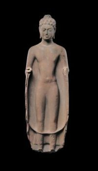 Standing Buddha, Southern Cambodia, mid-7th century. © The Metropolitan Museum of Art