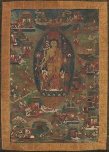 Buddha Sakyamuni and Scenes of His Previous Lives.