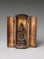 Fudo Myoo in Portable Shrine