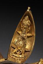 Gilt bronze Tibetan Chinese mandala petal 7