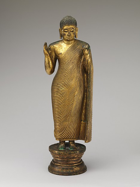 Buddha Offering Protection, Sri Lanka, mid-15th–16th century. © Metropolitan Museum of Art