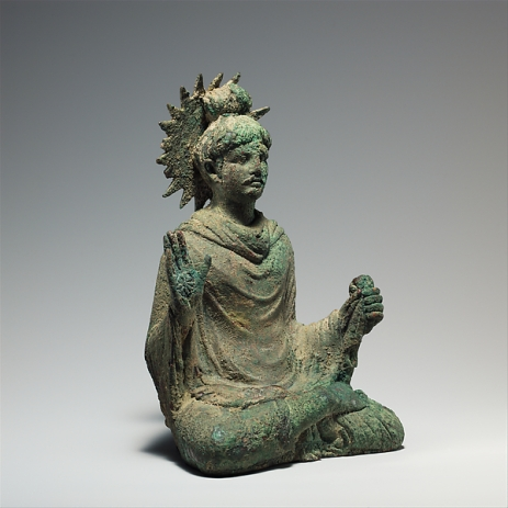 Buddha is probably one of the earliest iconic representations of Shakyamuni from Gandhara