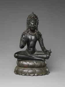 Bodhisattva Maitreya, the Buddha of the Future. 7th century, India (Jammu and Kashmir) or Pakistan (Swat Valley) © The Metropolitan Museum of Art