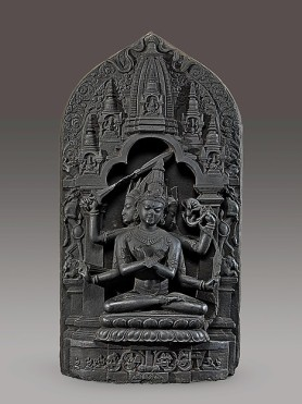 Manjuvajra Mandala, Bangladesh or India (Bengal), 11th century. © Metropolitan Museum of Art