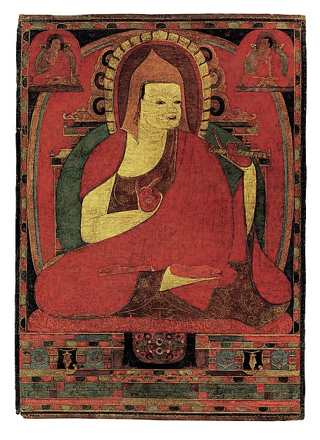 Portrait of the Indian Monk Atisha. Tibet, early to mid-12th century. © Metropolitan Museum of Art
