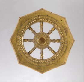 Wheel of the Buddhist Law (Rinpō). Japan, Kamakura period (1185–1333) © Metropolitan Museum of Art