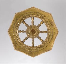 Wheel of the Buddhist Law (Rinpō). Japan, Kamakura period (1185–1333) © Metropolitan Museum of Art