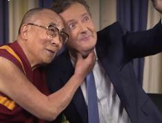 Piers Morgan meets the Dalai Lama