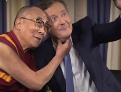 Piers Morgan meets the Dalai Lama
