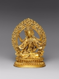 Ushnishavijaya (Zun Sheng fo mu) is a Buddhist Deity. China © Metropolitan Museum of Art