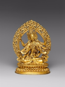 Ushnishavijaya (Zun Sheng fo mu) is a Buddhist Deity. China © Metropolitan Museum of Art
