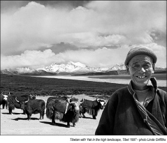 Photographs Taken During a Journey Around Tibet in 1997 by Linda Griffiths